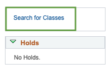 Student Class Search